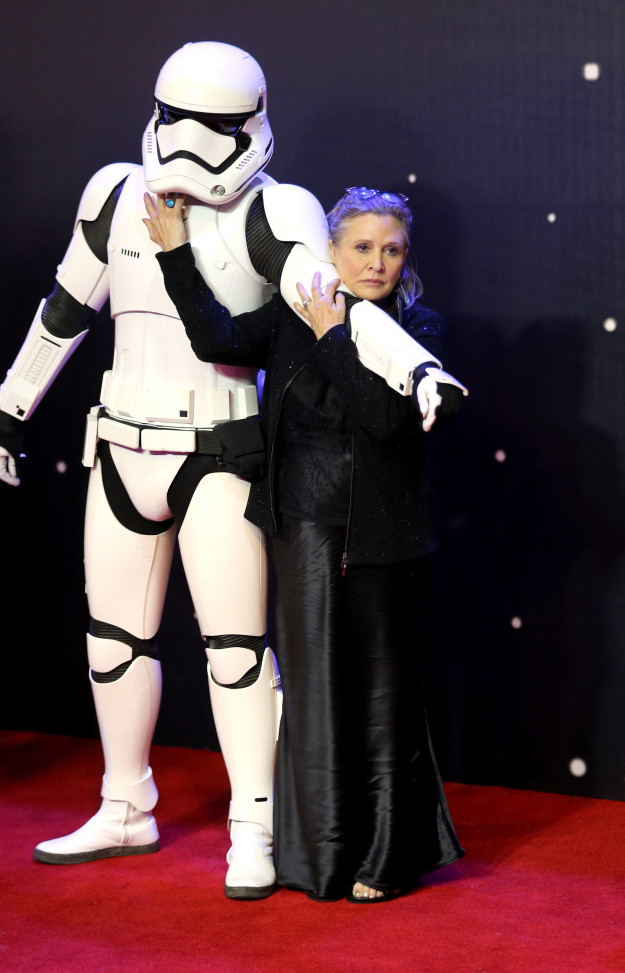 So, most of us Star Wars fans are still reeling from the genuinely tragic loss of Carrie Fisher.