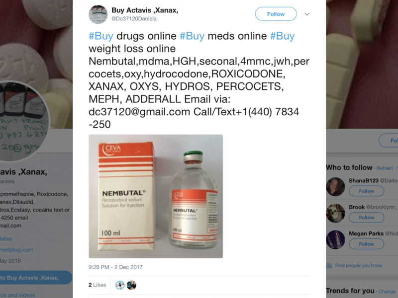 The Fda Has Scolded Facebook And Other Social Media Companies For Not Cracking Down On Illegal Opioid Sales Tocfeeds Com