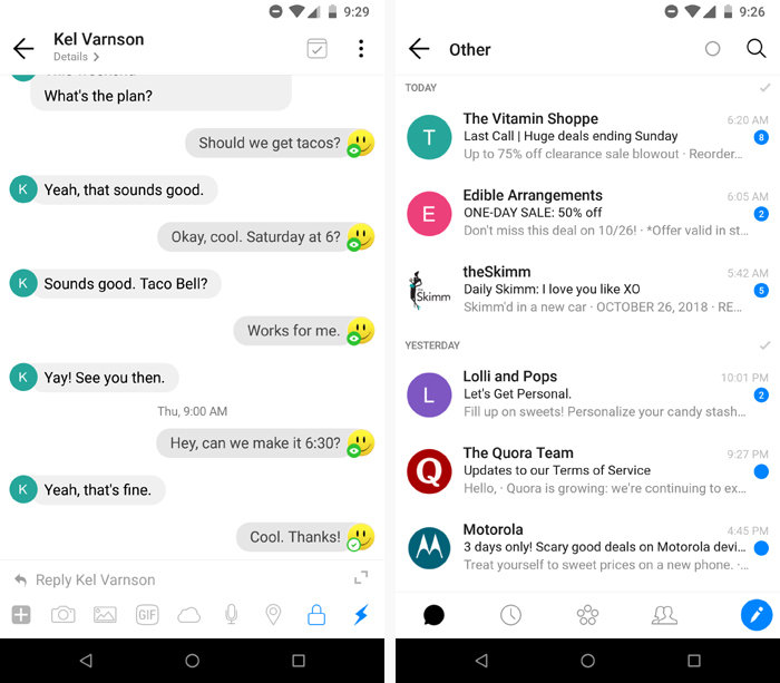 best android email apps spike