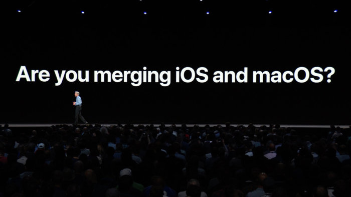 wwdc 2018 ios mac merge