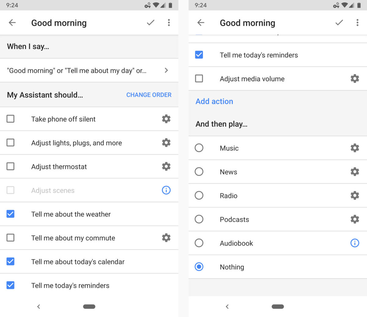 04 google assistant my day