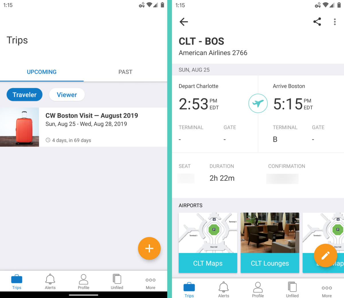 Android Travel - TripIt